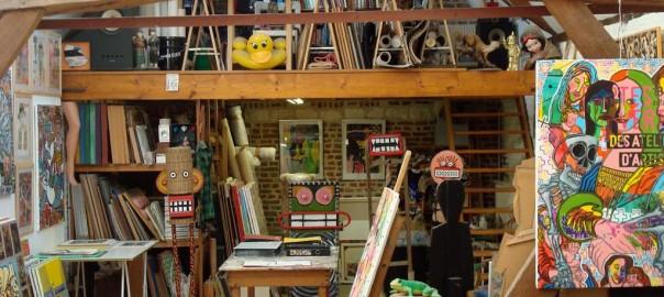 Portes ouvertes ateliers artistes