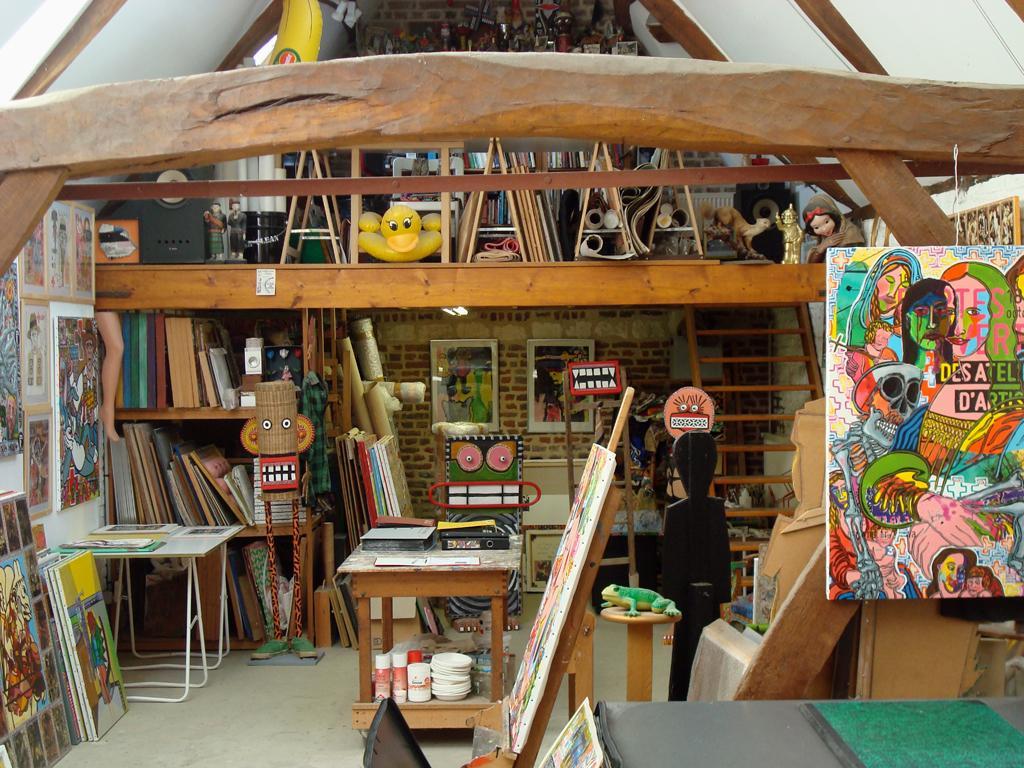Les artistes ouvrent leurs ateliers roubaix - Atelier artiste peintre ...