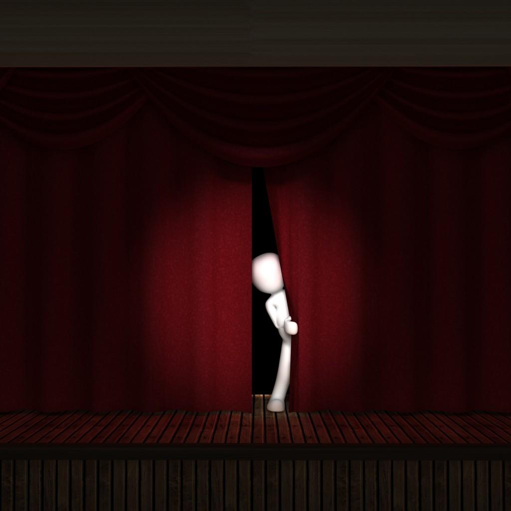 Petite scène de théâtre